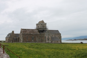 The monastary of Iona Birthcenter of Christianity in Scotland